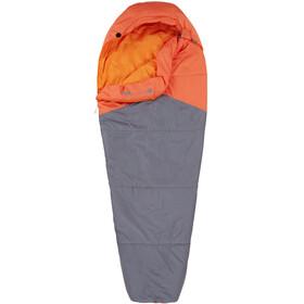 The North Face Aleutian 40/4 Sleeping Bag Long monarch orange/zinc grey